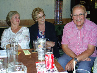 Members at our latest quiz night