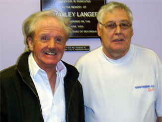 Phil Keen the former  drummer with Wayne Fontana and the Mindbenders, joined John Bailey and Joe  Sambrook in the studio